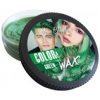Cire coiffante et colorante Color&Style Wax verte Renée Blanche 100ML
