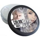 Cire coiffante et colorante Color&Style Wax blanche Renée Blanche 100ML
