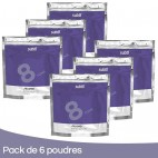 Pack 6 Polvos rubio Sutil 500 Grs