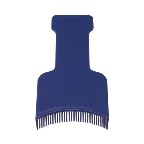 Spatola per mèches dentata - Blu