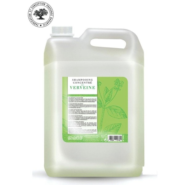 Gentle concentrated shampoo with verbena 5L