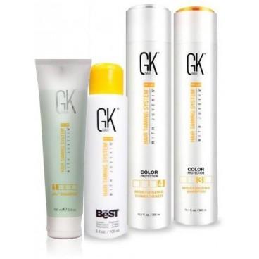 Glättung Kit GKhair The Best 100 ML + 300 ML Pflege