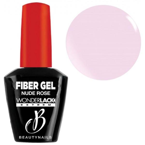 Base & builder nude rose Fiber Gel Beauty Nails 12ML