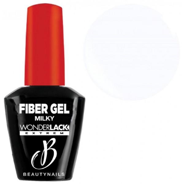 Base & builder milky Fiber Gel Beauty Nails 12ML