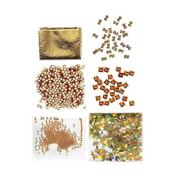 Mini Kit Nail Art Gold-149312