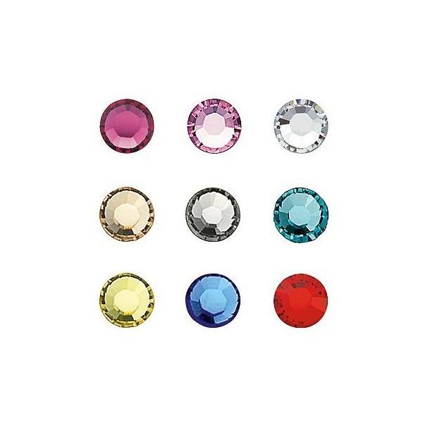 Diamantes de imitación uñas multicolor SS5 X 20 148000