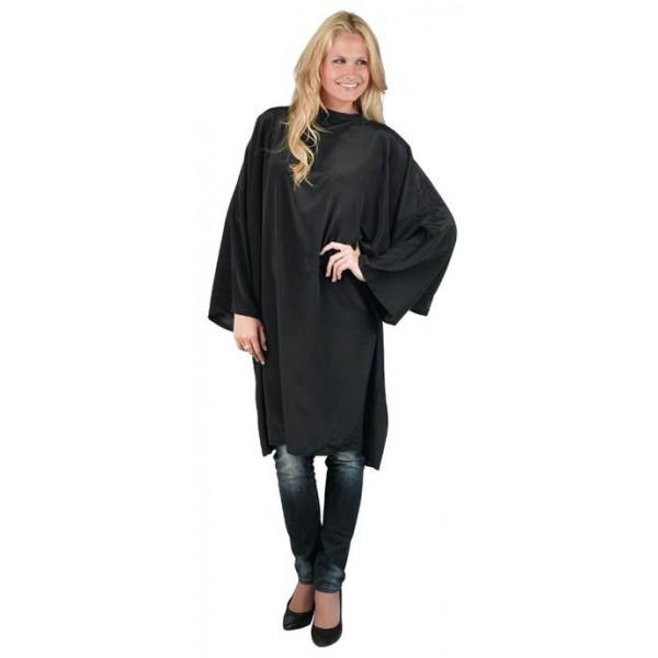 Bathrobe Economyss 1 sleeves black velcro