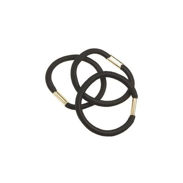 Bag 3 elastics Black 45 mm