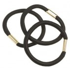 Sachet 3 élastiques Noirs 45 mm