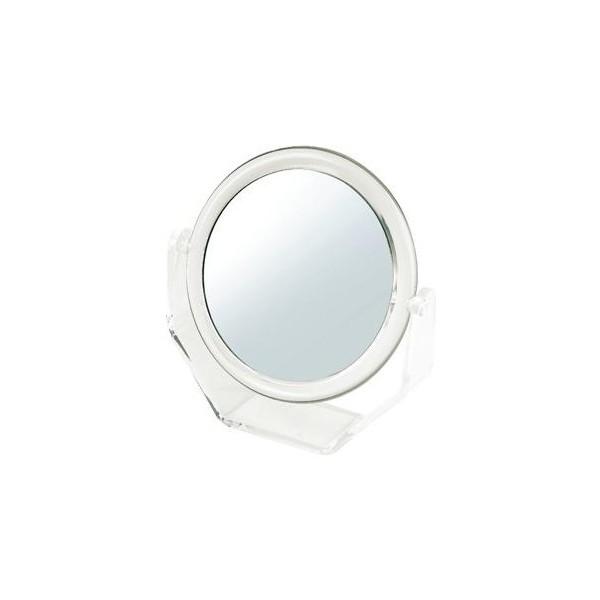 Specchio double face da trucco ingrandente - Piccolo modello