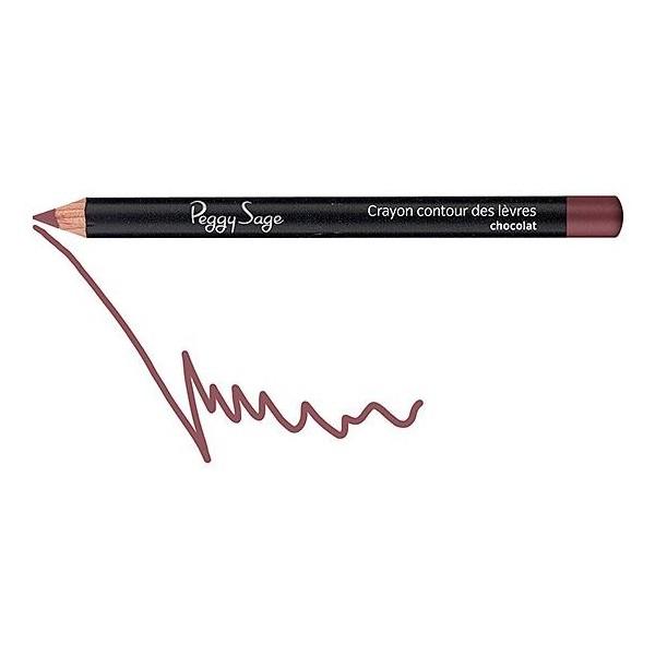 Labbra matita contorno di cioccolato 130112