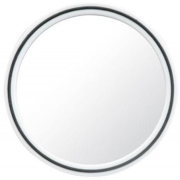 Miroir Magic rond Blanc