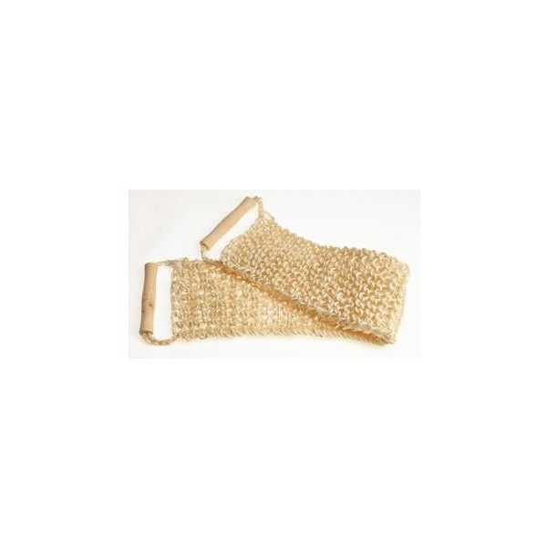 Sisal back massage belt