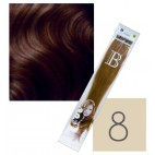 Extensions Keratin Balmain Pack of 10 Light Blond N ° 8 45 CM