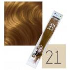 Confezione da 10 extension cheratina Balmain - N° 21 - 45 cm
