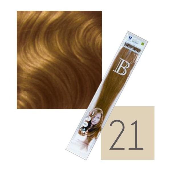 extensions kératine balmain paquet de 10 n°21 45 cm