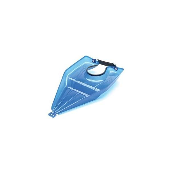 Lavatesta trasportabile blu