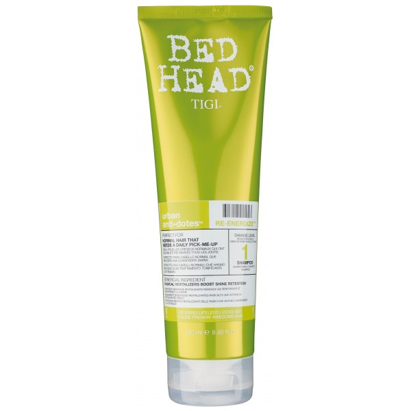 Tigi Bed Head Shampooing Re-energize 250 ML