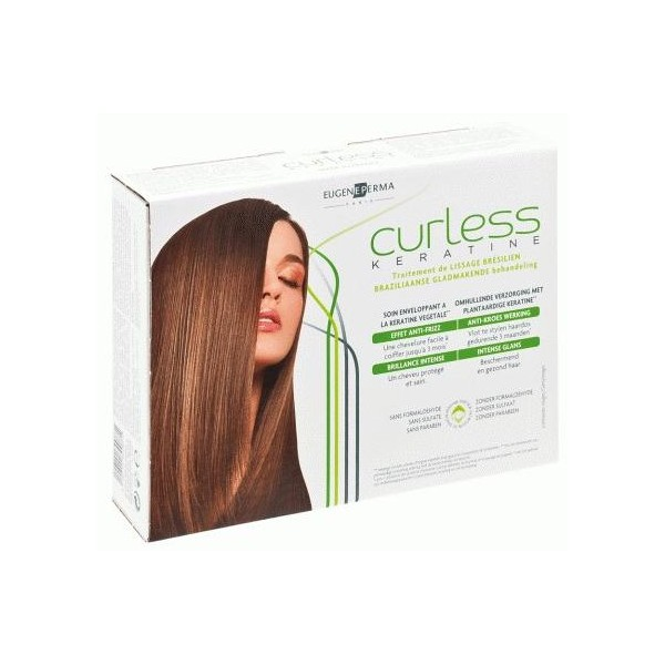 Mini-kit  Curless Keratine - Lisciatura -