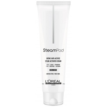 Crème de lissage cheveux épais Pro Active Steampod 150ML