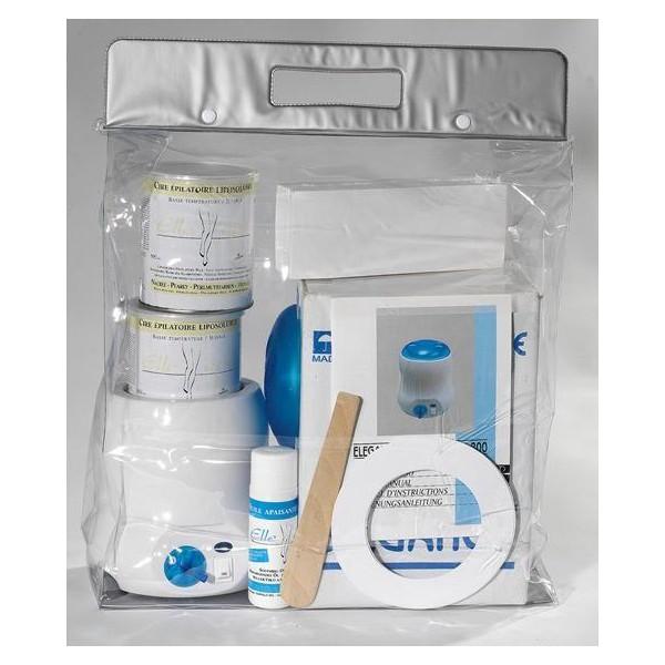Waxing Heater Kit Töpfe Perle Ellepi