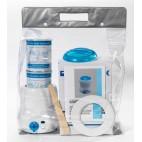 Depilación con cera Calentador de cera Kit Ollas Azul sin bandas Ellepi