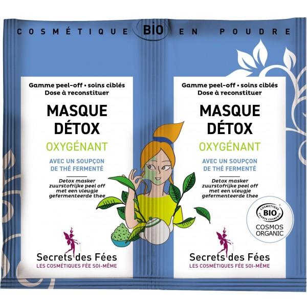 SECRETS DES FEES mascarilla de desintoxicación orgánica 2x16g