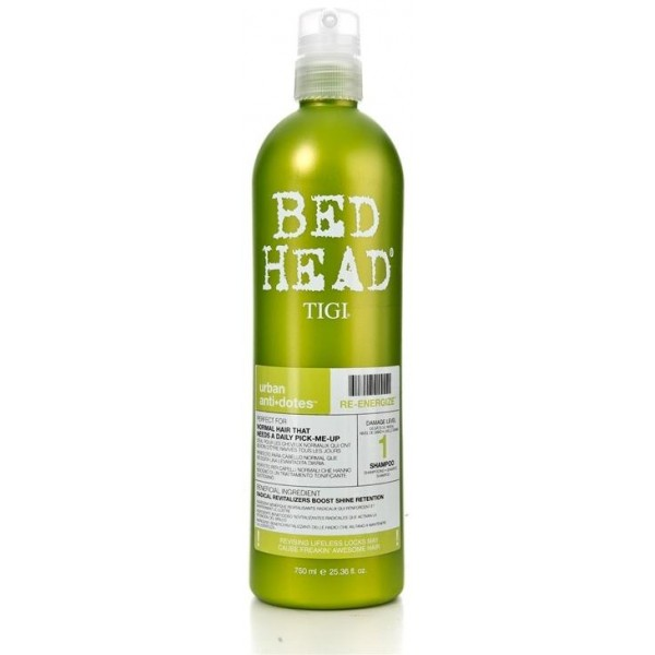Tigi Bed Head Shampooing Ré-Energize 750 ML