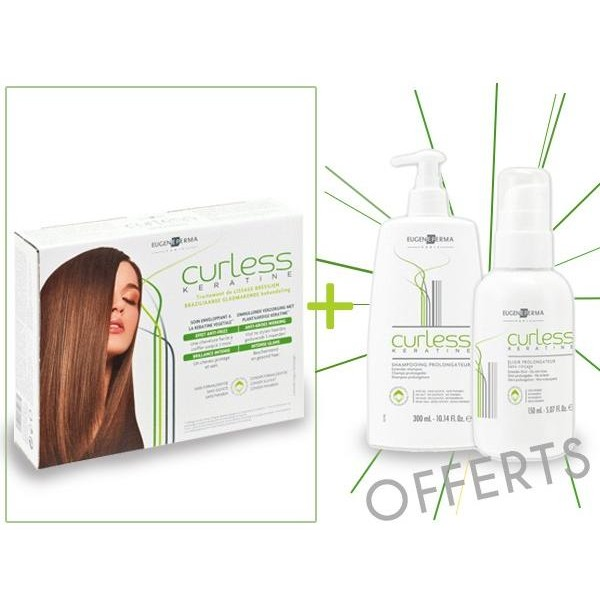 Keratin Curly Smoothing Pack