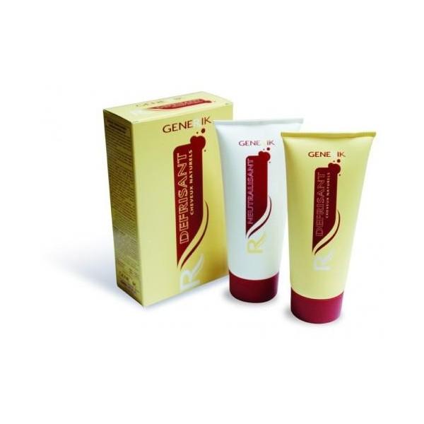 Confezione di creme stiranti Generik per capelli naturali
