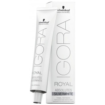 Igora Royal Absolutes Silver White Gris Lilas