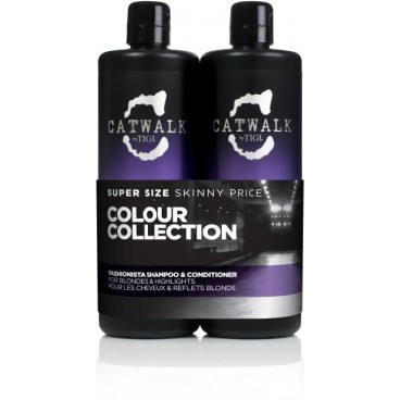 Pack Tigi Catwalk Fashionista 2 X 750 ML