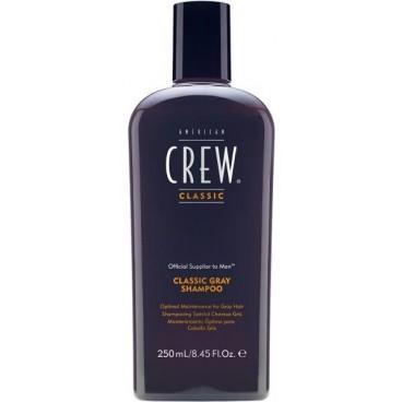 Shampooing Américan Crew Cheveux Gris 250 ML