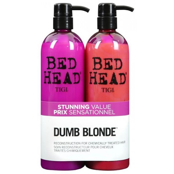 Tigi Bed Head Pack Duo Dumb Blond 2 X 750 ML