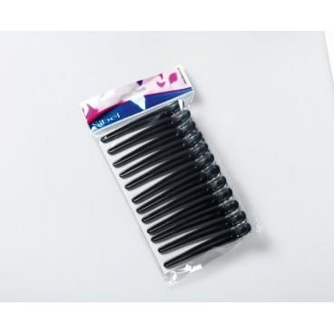pinze fermaciocche in alluminio/plastica nere