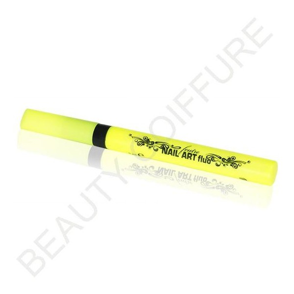 Nail Art Yellow Fluo Pen