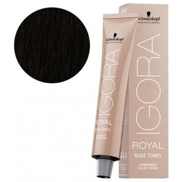 Igora Royal Nude Tones 4-46 chatain moyen beige marron 60 ML