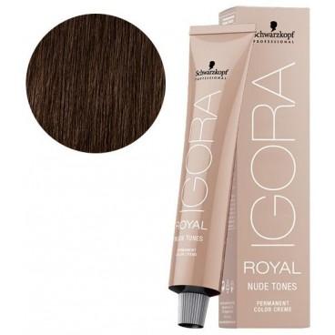 Igora Royal Nude Tones 6-46 blond foncé beige marron 60 ML