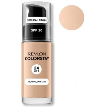 Background Complexion Revlon Colorstay Dry Skin 180 Sand Beige Dry Skin
