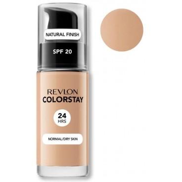 Fond de teint hydratant 24H n°220 beige naturel Colorstay dry skin REVLON