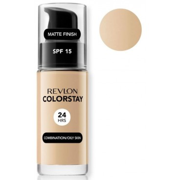 Background Complexion Revlon ColorStay Oily Skin 180 Sand Beige Oily