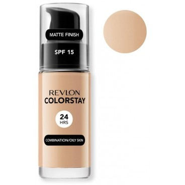 Background Complexion Revlon ColorStay Oily Skin Natural Beige 220 Oily