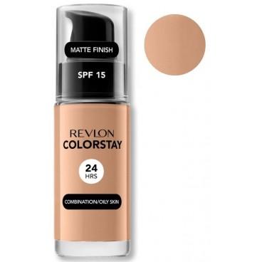 Revlon - Fondotinta Colorstay Oily Skin 250 Fresh Beige per pelle grasse