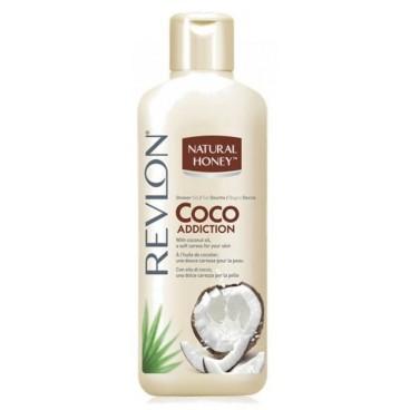 Gel Douche Natural Honey Coco Addiction Revlon 650ml
