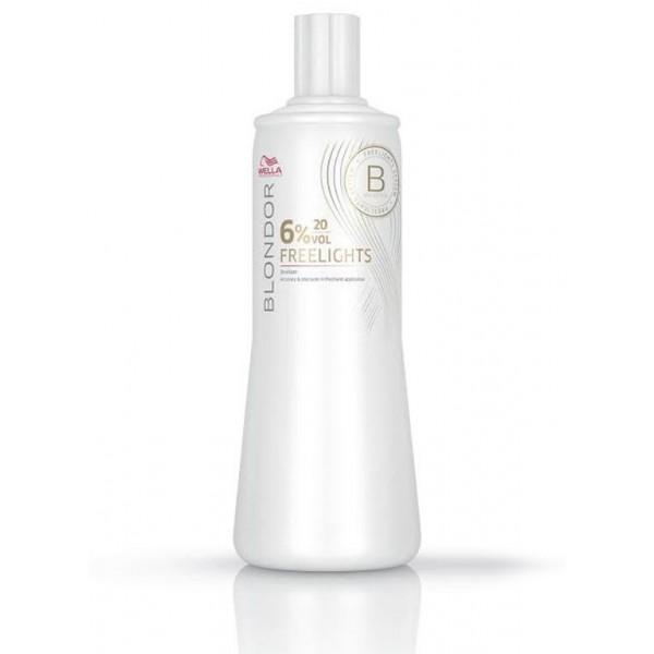 Oxidante Blondor Freelights 6% 20v 1000 ml