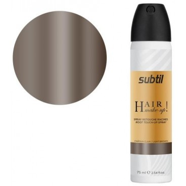 Spray Subtil Hair Make-up Châtain Clair