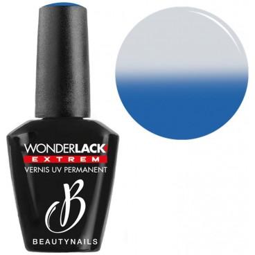 Far Wonderlack Beautynails Thermo-Effekt Blau / Weiß 12 ml