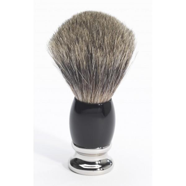 El afeitar Badger Badger 100% Negro Puro