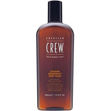 Gel Douche American Crew 24H deodorant body wash 450ml