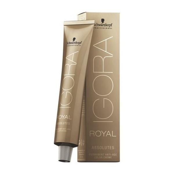 Igora Royal Absolutos 8-01 luz natural rubio ceniza 60 ML